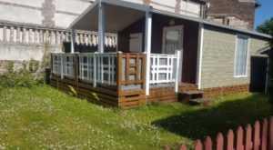 emplacement résidentiel pour chalet au camping la Baie de Somme au Crotoy