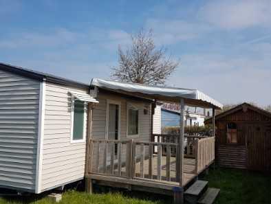 emplacement résidentiel pour mobil home au camping la Baie de Somme au Crotoy