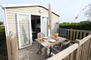 Location mobil home et chalet au camping La Baie de Somme au Crotoy pour week-end et vacances en baie de Somme