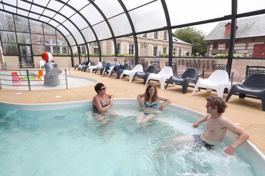 Camping la baie de somme le crotoy piscine 1053 camping - Camping piscine couverte baie de somme ...