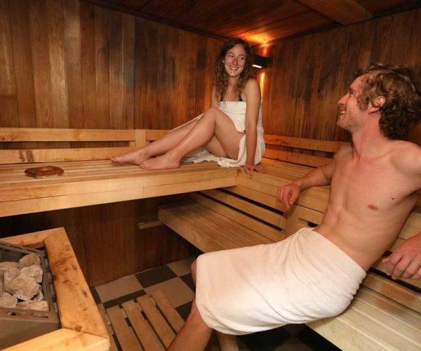 Sauna spa au camping La Baie de Somme au Crotoy