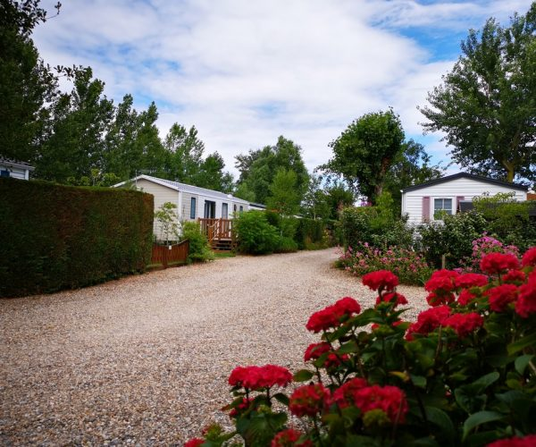 emplacement résidentiel pour mobil home et chalet au camping la Baie de Somme au Crotoy