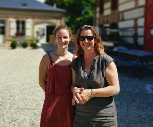 Pascale et Marie-Camping La Baie de Somme-Le Crotoy
