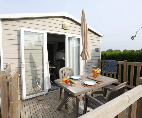 Camping la Côte picarde_Le Crotoy-mobil home 1 chambre