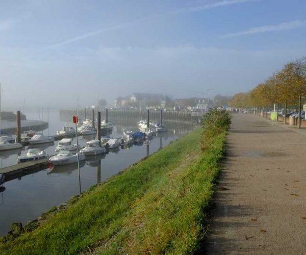 Port du Crotoy en Baie de Somme